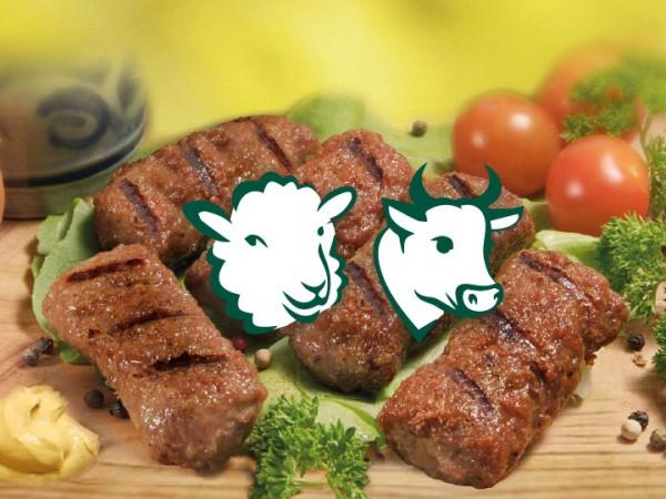 Mici aus Rind- und Schaffleisch