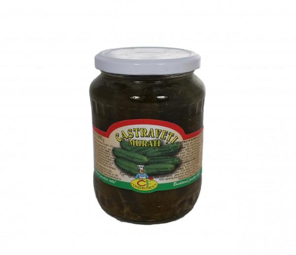 Castraveti murati (in saramura)