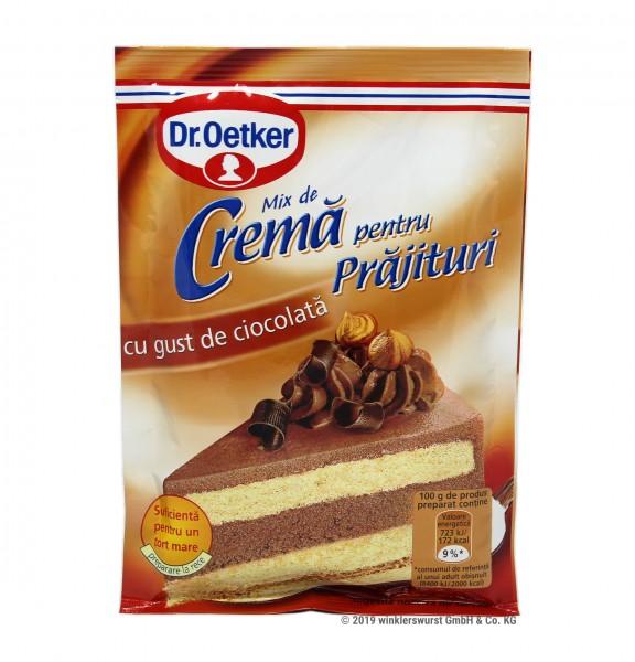 Dr. Oetker- Crema pentru prajitura cu gust de ciocolata