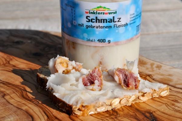 Fleisch in Schmalz