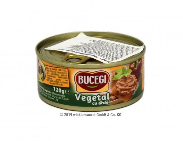 Pastete vegetarisch mit roter Paprika Bucegi