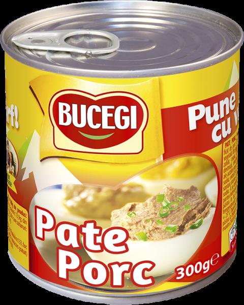 Pate de porc Bucegi 300 g