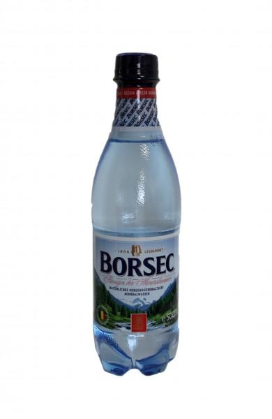 Mineralwasser Borsec 0,5 l mit Kohlensäure