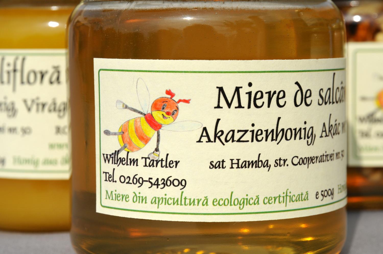 Lapte cu miere de salcam