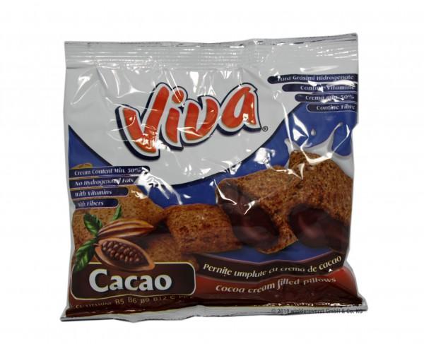 Viva-Snacks mit Schokocreme