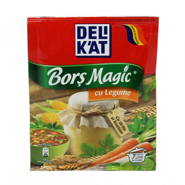 Delikat Borsch Magic mit Gemüse
