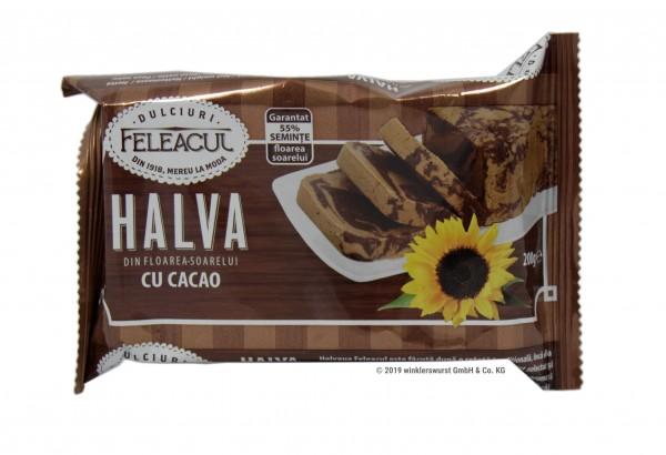 Halva mit Kakao