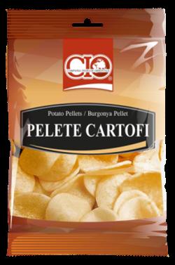 getrocknete Kartoffelscheiben