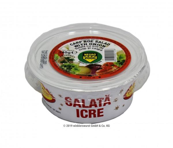 Salata cu icre de crap si ceapa