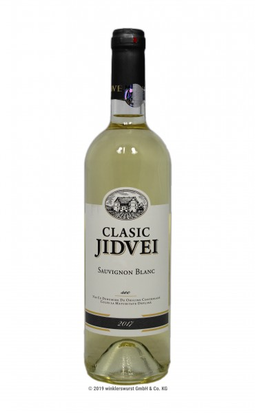 Weißwein (Jidvei Clasic Sauvignon Blanc trocken)