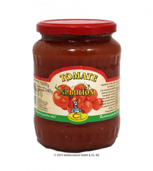 Tomaten in Tomatenmark