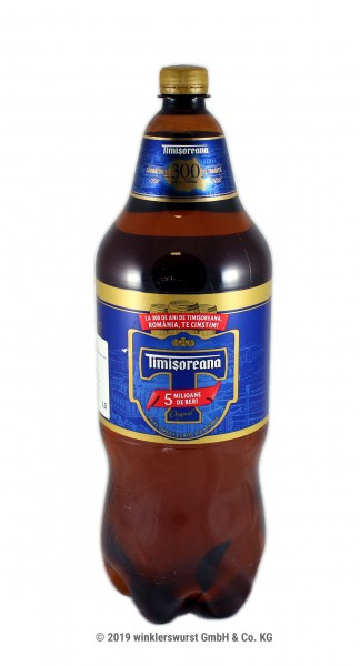 Bier Timisoreana 2,5 l