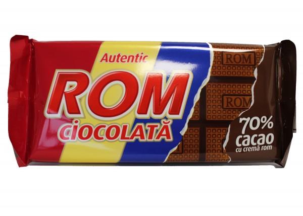 ROM Ciocolata amaruie cu crema de rom