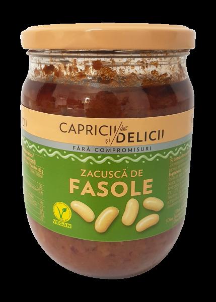 Zacusca mit weißen Bohnen
