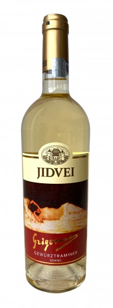 Vin alb demisec Gewürztraminer- Jidvei