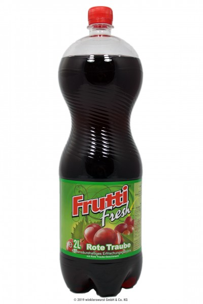 Frutti Fresh Rote Traube 2 l