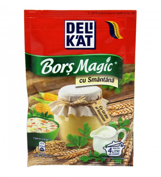 Delikat Borsch Magic Sahne 38g