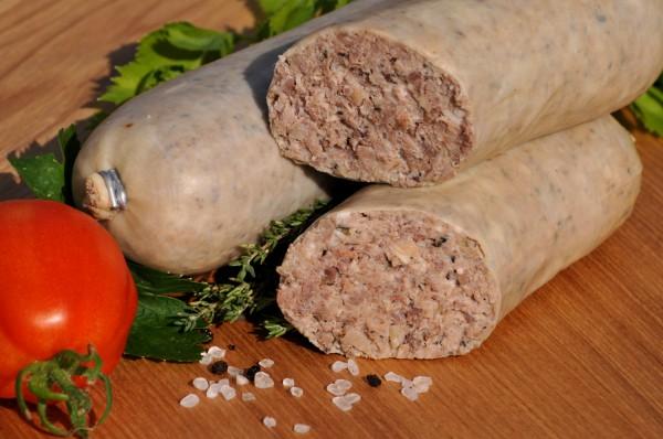Kochwurst ohne Reis