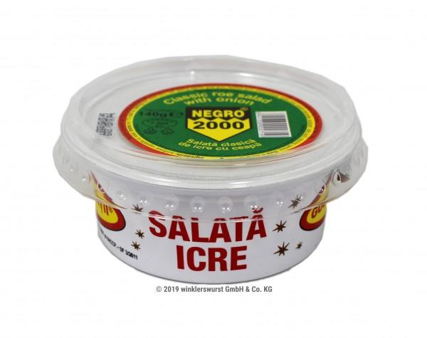 Salata de icre clasica cu ceapa