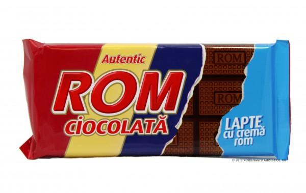 ROM Milchschokolade mit Rum-Cremefüllung