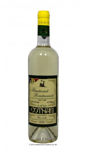Weißwein (Cotnari Tamaioasa Romaneasca, süß)