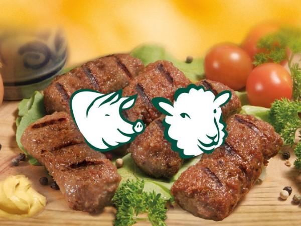 Mici aus Schweine- und Schaffleisch