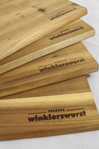 Holzbrettchen winklerswurst