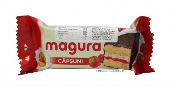 'Magura' Kuchen mit Erdbeercremefüllung